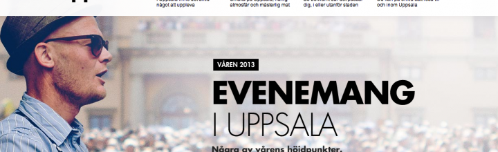 Destination Uppsala lanserar idébank för besöksnäringen