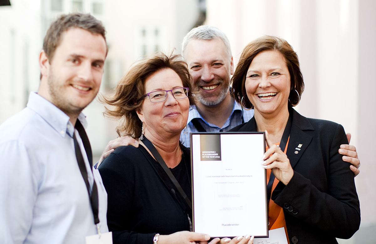 Placebrander of the Year - hederspris 2013 till Luleå