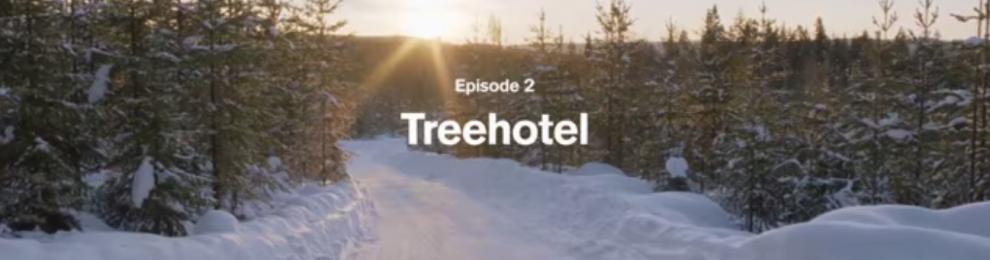 Volvo Treehotel och Sverige – Co-Branding