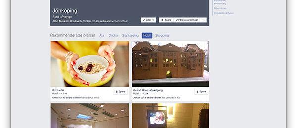 Din plats på Facebook –upptäck de nya platssidorna