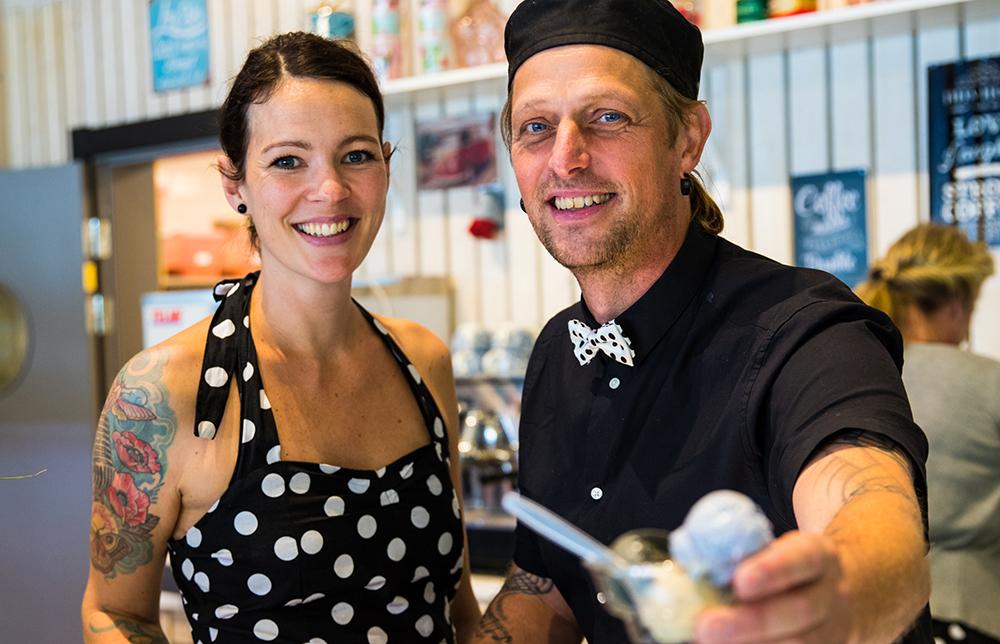 Anneli Rimås och Johan Zedig