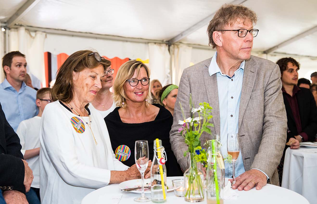 Anna Mellergård, Anne-Margrete Wachtmeister och Bengt Fröderberg
