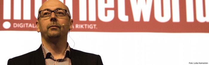 Internetworlds chefredaktör Magnus Höij blir en Placebrander