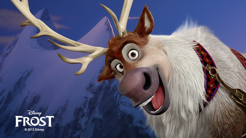 Disney inspireras av Norge - Placebrander Disney Frozen Sven Wallpaper