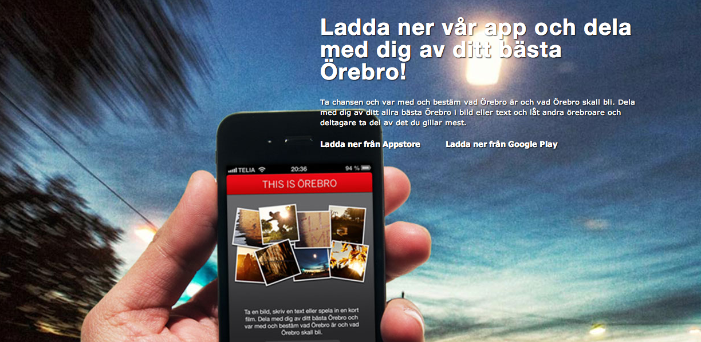 Platsvarumärke Örebro