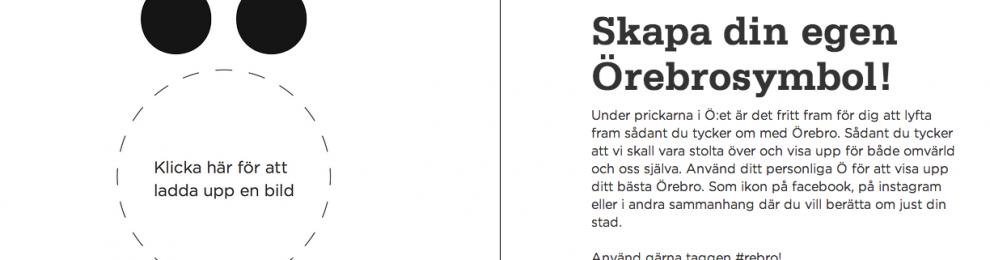 Örebro bjuder in invånarna i platsmarknadsföringen