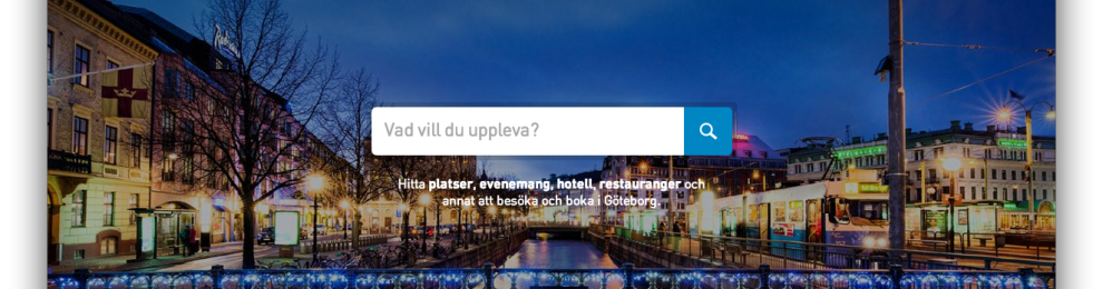Göteborgs nya turistsajt