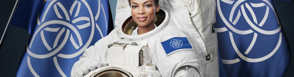 Planeten Jorden har fått en flagga