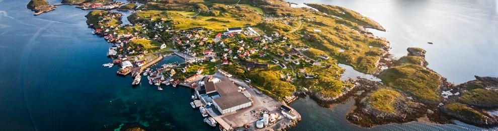 Moa flyttade till Træna i Nordnorge