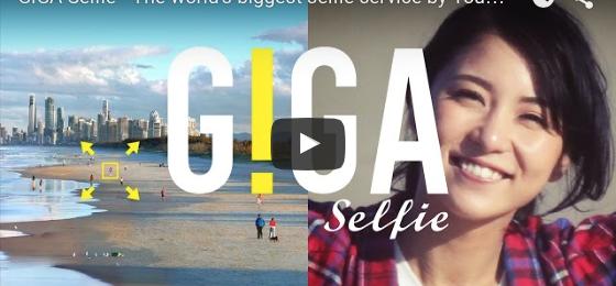 Japaner tar Giga Selfies i Australien