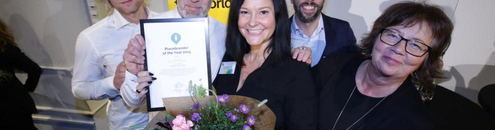Luleå blev Sveriges främsta platsmarknadsförare 2015