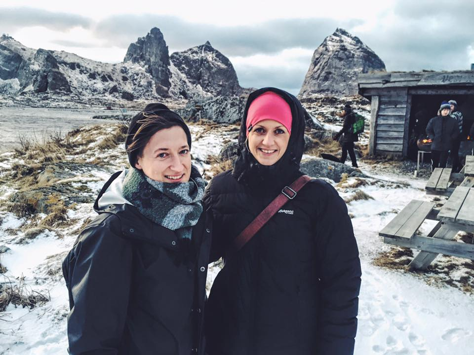 Helena Nordström och Moa Björnson