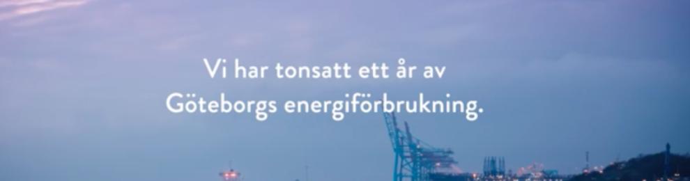 Göteborg Energi tonsätter stadens energiförbrukning