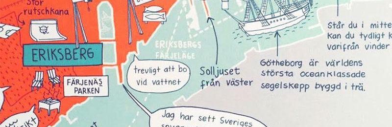 Göthenburgo ritar om kartan