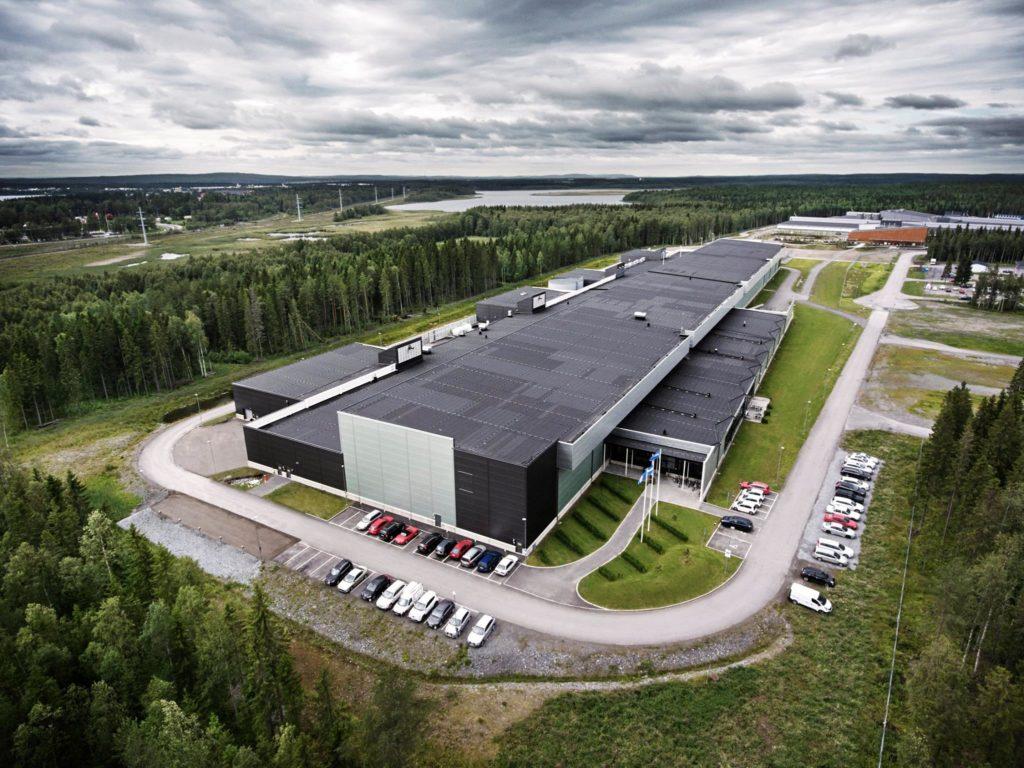 Facebook Serverhall i Luleå