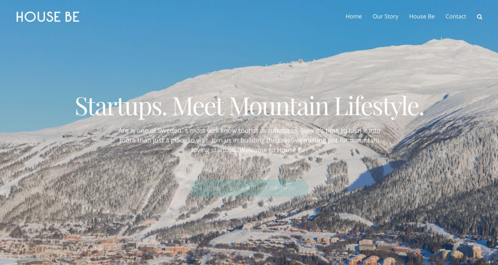 House Be Start-up Åre