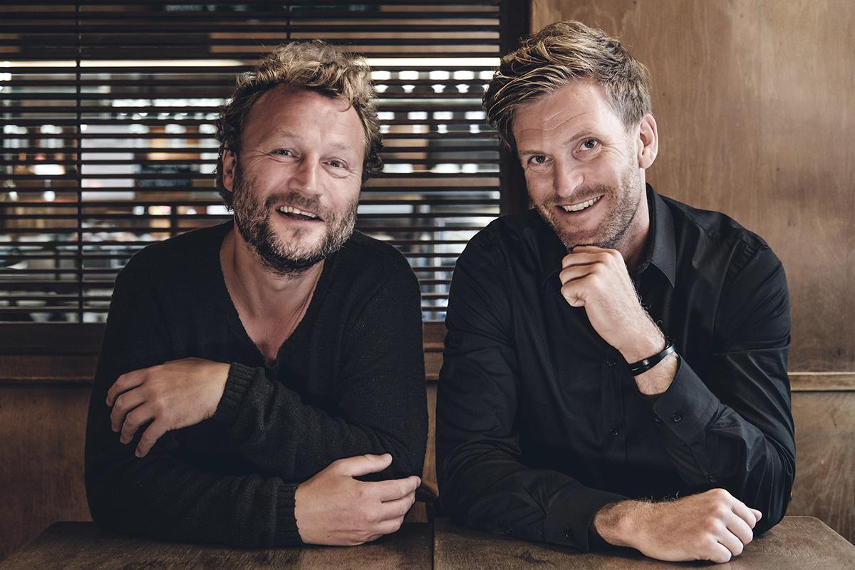 Arvid Axland och Niels Kjærgaard-Jensen