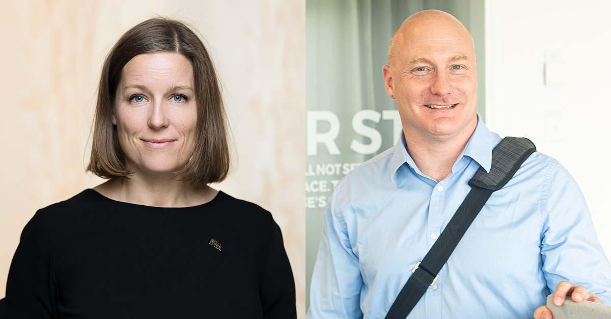 Helena Renström och Mats Jägstam