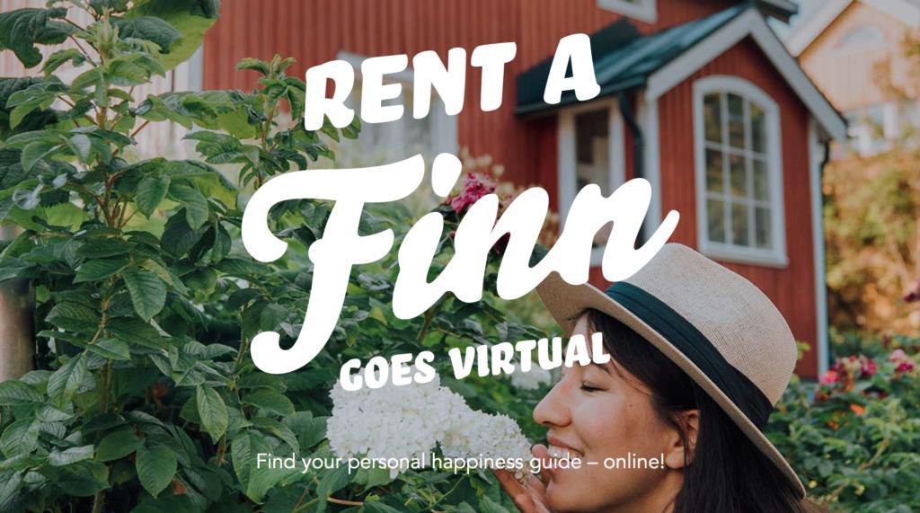 Rent a Finn goes Virtual