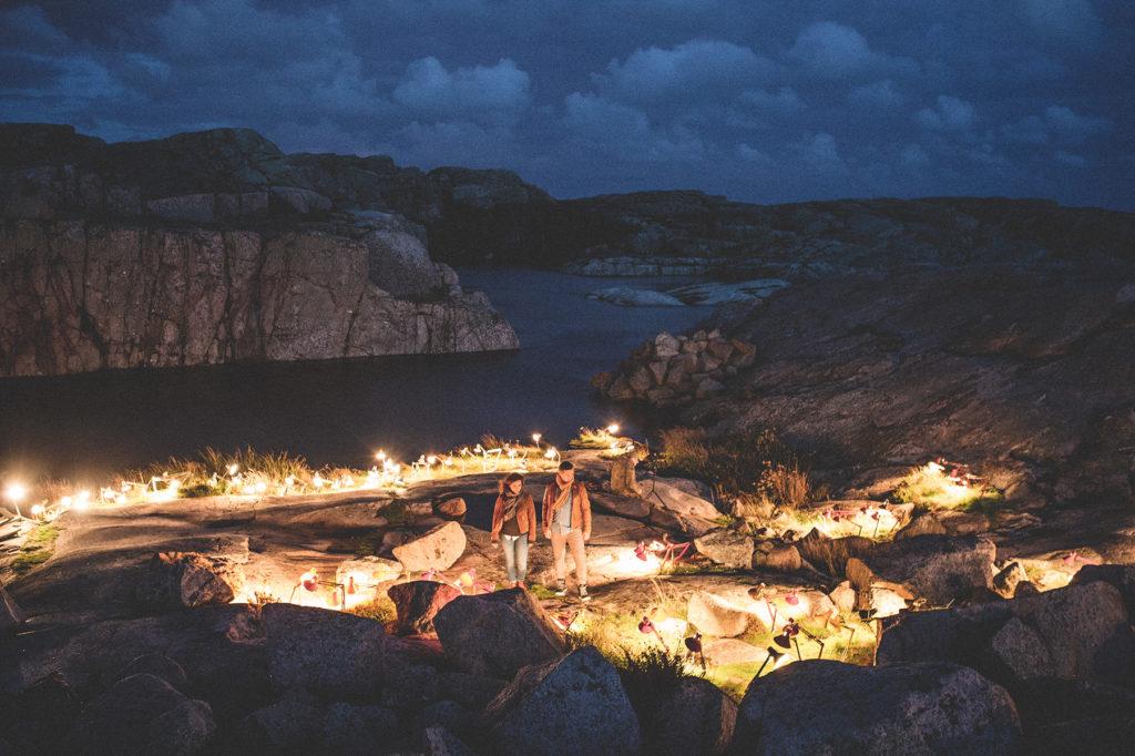 Island of light - ljuskonst i Smögen