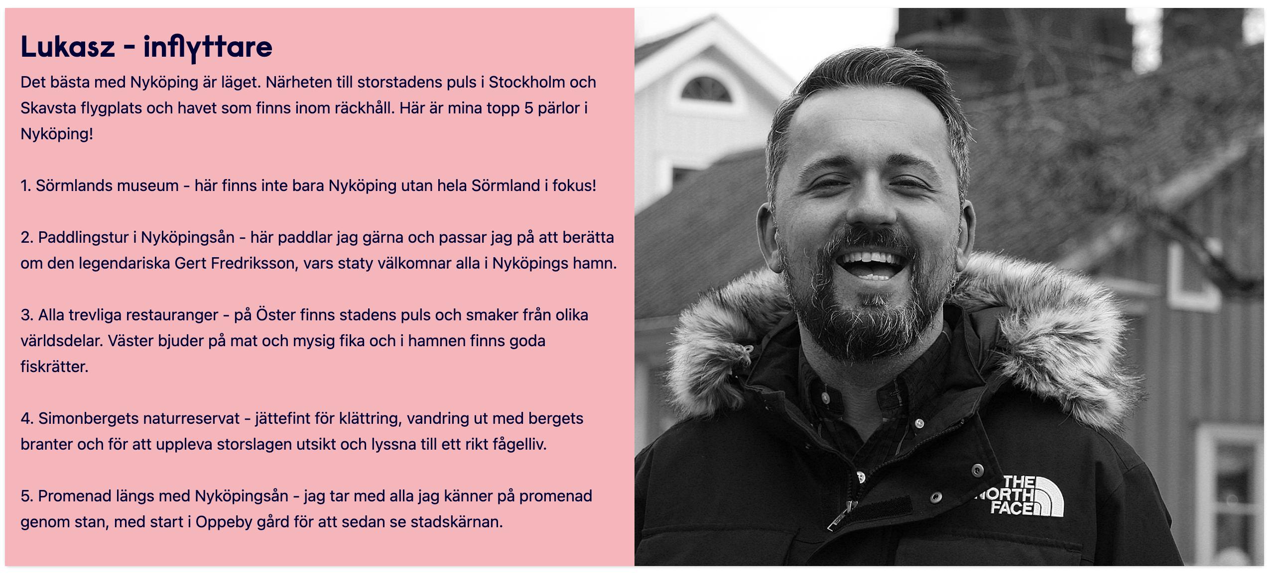 Ambassadör för nyköping
