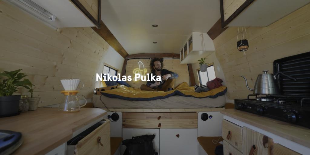 Nicolas Pulka, ofrivillig turist