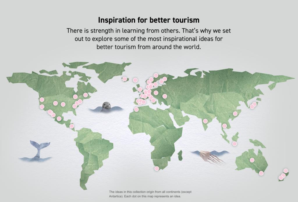 101 idéas for sustainable tourism